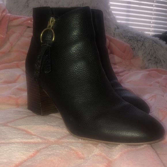 Franco Sarto Shoes - Franco Sarto Black Booties. New!